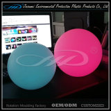 Cores plásticas do uso ao ar livre impermeável que mudam a luz da esfera do diodo emissor de luz
