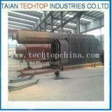 Drums dobro D Type Coal Fired Steam Boiler para a indústria têxtil