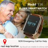 Multi Modi GPS-Verfolger-Uhr mit der in Position bringenden und Puls Istzeit (Y16)