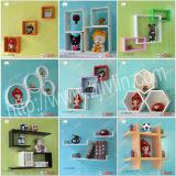 Деревянное Wall Shelf с Gloss Painting