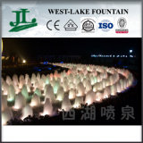 Digital divertente Water Lattice Fountain con Lights variopinto