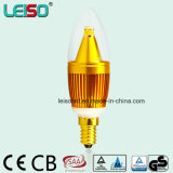 5W Dimmable 90raのクリー語Chip Golden Candle Light (LS-B305-GB-B-CWWD/CWD)