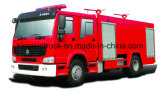 China Fire Truck met Foam en Water voor 4X2 Driving Type