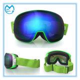 Lunettes de ski personnalisées par adulte professionnel de verres de sûreté avec le cas
