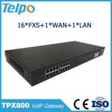 Los items superventas abreviados marcan 16 VoIP portuario FXS ATA