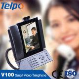 Il distributore del nuovo prodotto ha voluto il telefono da tavolino di VoIP 3G della linea terrestre di Bluetooth con WiFi