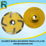 La taza del diamante de Romatools rueda la resina llenada