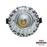 SAA 승인되는 운전사를 가진 7W 크롬 프레임 LED 천장 빛