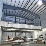 Gancho claro pré-fabricado dos aviões da construção de aço
