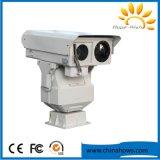 Lange ReichweiteMulti-Sensor PTZ IP-Sicherheits-Überwachung-thermischer Kamera Onvif Sonnenenergie-Radioapparat