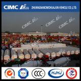 Cimc Huajunの炭素鋼の燃料かオイルまたはガソリンまたはディーゼルタンカー(18-65CBM)