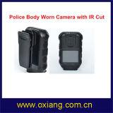 """1080P 2 """" GPS IR 야간 시계를 가진 경찰 바디에 의하여 착용되는 사진기"""