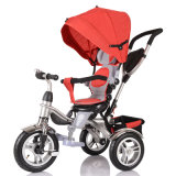 おもちゃ様式の乗車およびバイク(OKM-1295)の車のタイプ赤ん坊の三輪車のベビーカーの赤ん坊の乗車