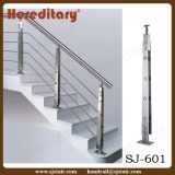 스테인리스 손잡이지주 계단 (SJ-H5039)를 위한 단단한 로드 방책 난간