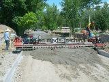 普及した具体的なセメントの道のペーバーの舗装機械