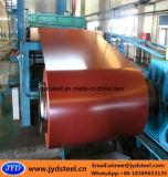 Bobina cubierta cinc pre pintada del acero y del hierro