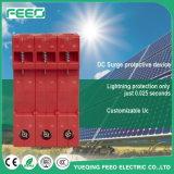Pv-System aufbereiteter Energie 3pole SPD Gleichstrom-Überspannungsableiter