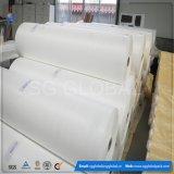 Ткань PP оптовой белизны Китая плоская сплетенная в крене