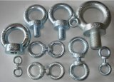 Ferragem com Screw, Bolt, Nut, Carbon Steel, Zinc Plated