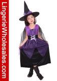 أطفال [هلّووين] حزب ثوب بنات ساحر [كسبلي] زيّ