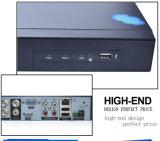 4CH het Veiligheidssysteem van kabeltelevisie DVR van Network