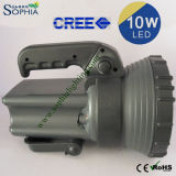 antorcha impermeable de gran alcance de 10W LED con la batería recargable 5.5ah