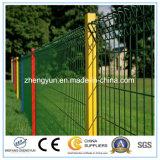 中国の製造者のPVCによって塗られる溶接された金網の塀、金網の塀