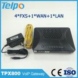 ベストセラーG. 711 a/U-Law/G. 729A/Ab/G. 723.1 VoIP 4ポートのATA