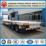 Di Ctsm 3-Axles dell'aria della sospensione di contenitore di trasporto di Lowboy rimorchio semi