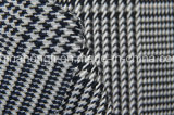 Tela tingida fio de T/R, 63%Polyester 34%Rayon 3%Spandex, 265GSM