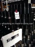 Couplage de pompe de puits de pompe de PC de pompe de vis de surgeon Rod