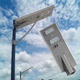 IP65保証3年のの新しいデザイン工場価格統合された太陽LEDの街灯