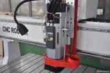 Máquina do router da estaca do CNC com faca