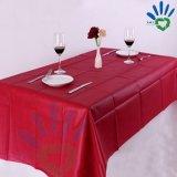 Feito no Tablecloth não tecido quadrado feito sob encomenda do restaurante da tela do preço barato da fábrica de China