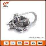 Зажим для подвешивания кабеля болтов алюминиевого сплава 2 низкого напряжения тока надземный