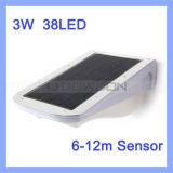 20W High Lighting Solar LED Street/Garten Light 300lm 38PCS SMD Motion/Sound Sensor LED Lamp