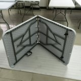 Heavy Duty Plastic Folding in Half Table