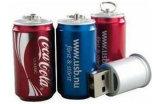 전용량을%s 가진 콜라 모양 USB 섬광 드라이브