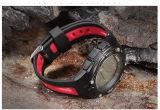 Bracelet de montre imperméable à l'eau de sport de Bluetooth avec la batterie de réserve de 1 an