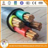 Алюминиевый силовой кабель проводника изолированный XLPE