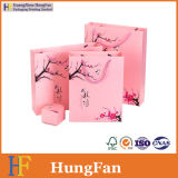 Подгонянная подарка печатание конструкции хозяйственная сумка Monochrome упаковывая бумажная