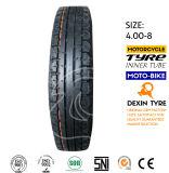 Neumático 4.00-8 de Tuk Tuk del policía motorizado del neumático tres del triciclo de Mrf