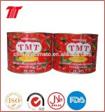 Salsa de tomate conservada buen gusto, goma de tomate para el mercado de África en la nueva cosecha 2016