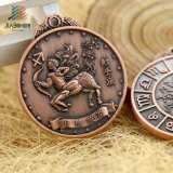 Jiaboの顧客用記念品の使用の骨董品メダル