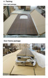 Engineered Used Interior MDF portas de PVC com vidro (SC-P169)