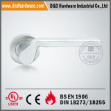En1906 Solid Door Handle на Rose