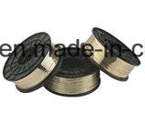 ワイヤージッパーを停止する真鍮ワイヤー衣服のアクセサリ