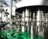 Machine remplissante carbonatée de cachetage de boissons de bouteille ronde d'animal familier