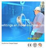Epoxidduktile Eisen-Befestigungen der beschichtung-Gg50 flanschten Zapfen