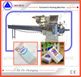 Empaquetadora automática de la espuma de la esponja de la limpieza Swsf-450
